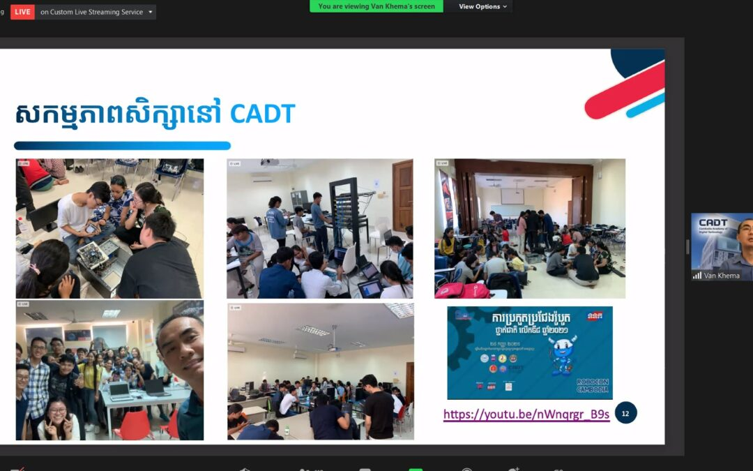 Orientation Workshop For High School Students On Preparation With Digital & ICT Skills